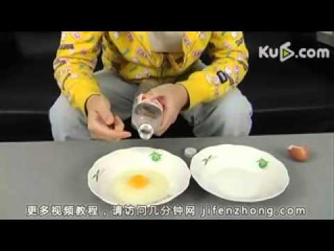 how to separate the yolk from an egg white