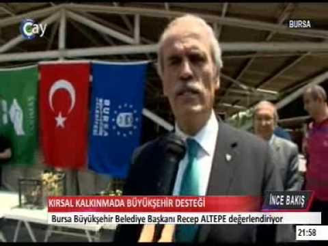 CAY TV BURSA BÜYÜKŞEHİR BEL. RAMAZAN ETKİNLİKLERİ (видео)