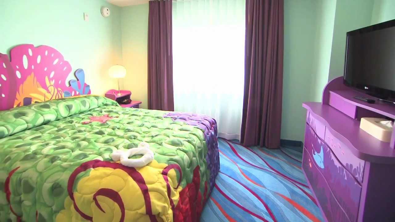 Disney's Art of Animation Resort - Family Suite tour