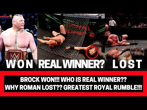 ROMAN REIGNS CAREER OVER as a Main Eventer?! | Why BROCK won?! | Greatest Royal Rumble Highlights!!|