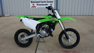 10. $4,349:  2018 Kawasaki KX85 Overview and Review