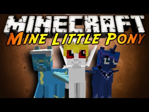 Minecraft Mod Showcase : MINE LITTLE PONY! (ft. Kuledud3 and Definitely Accidental)