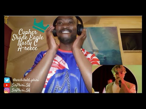 South Africa reaction ~ Shane Eagle, Nasty C and A-reece: Cypher