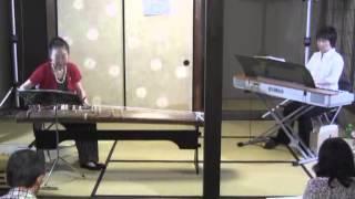 たなばたミニコンサート4・筝とピアノ演奏