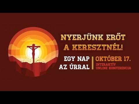 Egy nap az Úrral online konferencia – október 17.
