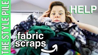 Video Holy Scrap! What to do with Scrap Fabrics? (DIY) | Style Pile #18 MP3, 3GP, MP4, WEBM, AVI, FLV Agustus 2018