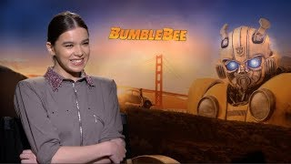 Video BUMBLEBEE interviews - Hailee Steinfeld, John Cena, Angela Bassett, Travis Knight MP3, 3GP, MP4, WEBM, AVI, FLV Desember 2018