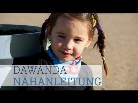 DaWanda Nähanleitung: Halstuch für Kinder