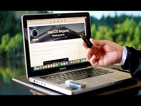 How to create a MOJAVE MAC OS USB BOOT drive or MacOS High Sierra Bootable USB