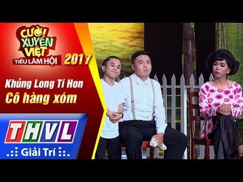 THVL   Cười xuyên Việt – Tiếu lâm hội 2017: Tập 5: Cô hàng xóm - Khủng Long Tí Hon (Full) - Thời lượng: 28:34.