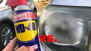 Video The TRUTH about WD 40 vs Headlights! MP3, 3GP, MP4, WEBM, AVI, FLV September 2019