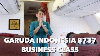 Video SINGAPURA KE JAKARTA | GARUDA INDONESIA B737-800 REGULAR BUSINESS CLASS MP3, 3GP, MP4, WEBM, AVI, FLV Mei 2019