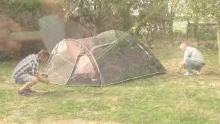 Комфортная кемпинговая палатка для всей семьи High Peak Mesos 4