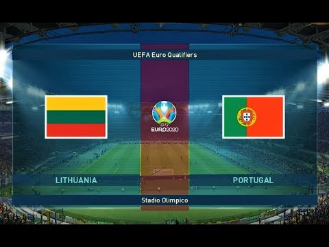 PES 2019 | Lithuania vs Portugal | UEFA Euro