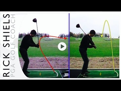 FIXING A HUGE GOLF SLICE