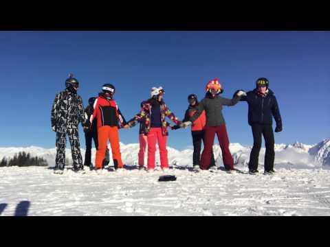 Ceroc Ski - Snow Monkey Montage!