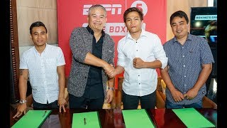 ESPN5 Live Boxing Press Conference