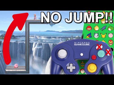 Who Can Make It? No Jump Wall Climbing Challenge -  Super Smash Bros. Ultimate