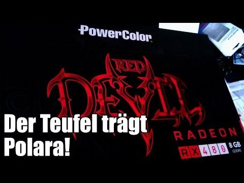 Eine Grafikkarte vorgestellt - PowerColor Red Devil Radeon RX480 8GB GDDR5