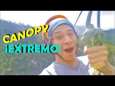 Conociendo Honduras/ CANOPY EXTREMO - Teto Rivera (1/2)