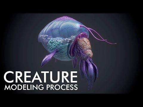 Devblog 4 – Pantropy Creature Modeling