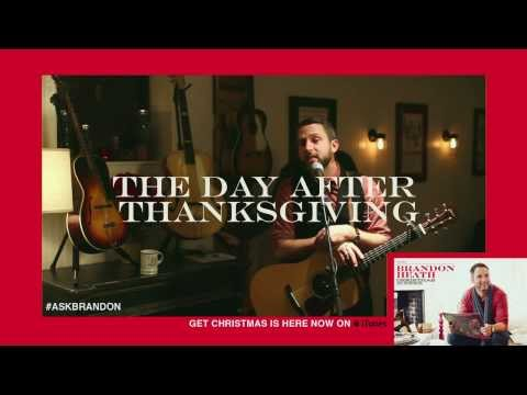 Brandon Heath - The Day After Thanksgiving - Live