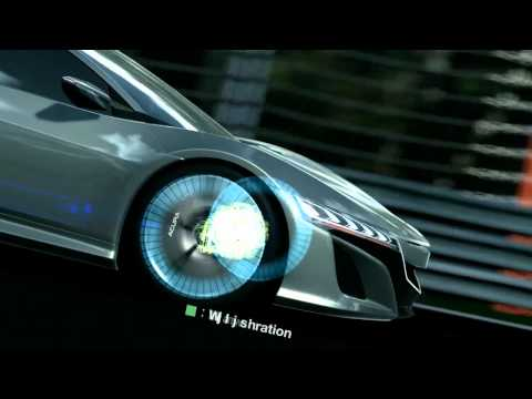 Acura NSX Concept   Gran Turismo 5 Debut | Video