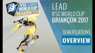 IFSC Climbing World Cup Briançon 2017 - Qualifications Overview by International Federation of Sport Climbing