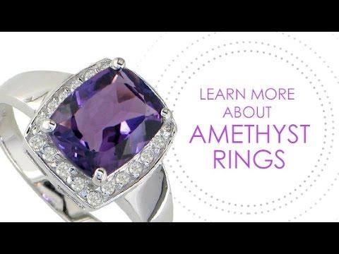 Amethyst Rings by SuperJeweler - SuperJeweler.com