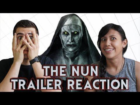 The Nun - Trailer Reaction!