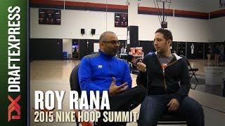 Head Coach Roy Rana - 2015 Nike Hoop Summit - Interview