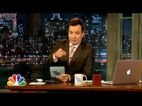 Hashtags: #IfIWonThePowerball (Late Night with Jimmy Fallon)