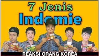Video Reaksi Orang Korea Makan 7 Jenis Indomie MP3, 3GP, MP4, WEBM, AVI, FLV Oktober 2017