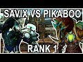 SAVIX VS PIKABOO BEST ROGUE NA RANK 1 BFA DUEL