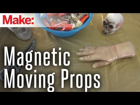 props - In this project, I show you how to use magnets to make Halloween props on a table move without anything touching them, as well as how to automate the prop wi...