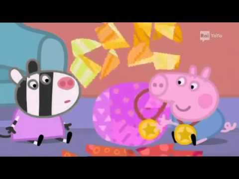 Peppa Pig Il compleanno TvBabyWorld видео