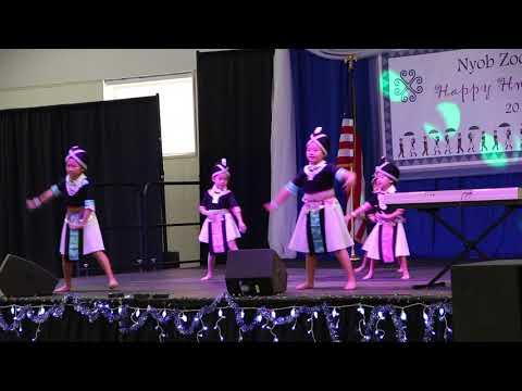 Nsthais Nkauj Ntxawn Colorado Hmong New Year 2017-2018 (видео)