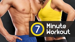Get fit quickly and burn fat fast with a new fitness challenge! Have you ever thought it possible to work out your entire body in just 7 minutes, burn maximu...