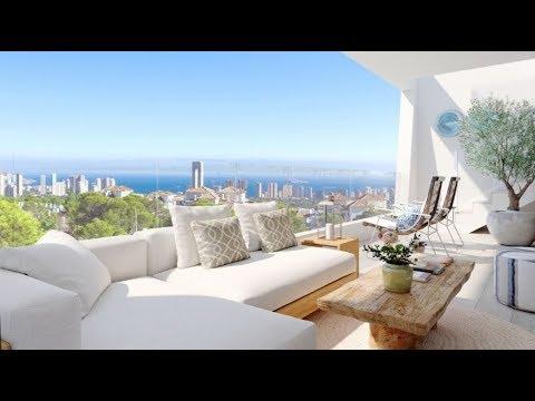 Новые квартиры и дома с видом на море у Бенидорма недорого - от 175 000 евро (Финестрат)