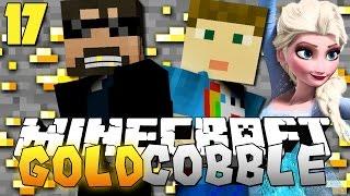 Minecraft: GOLD COBBLESTONE MODPACK   ELSA AND CRAINER?! [17]