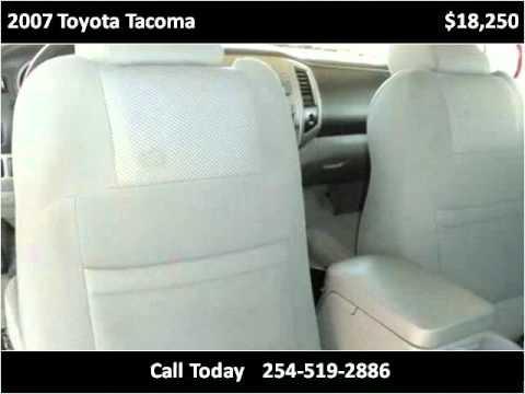 2007 Toyota Tacoma Used Cars Killeen TX