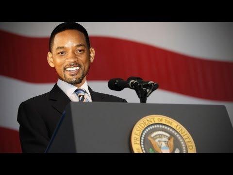 Will Smith Men In Black y Ahora Sera Barack Obama? (видео)
