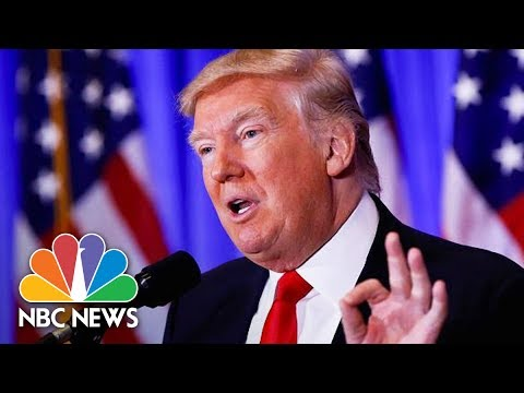 President Donald Trump, Lebanese Prime Minister Saad Hariri Hold Joint Press Conference   NBC News
