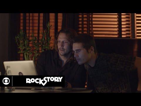 Rock Story: capítulo 124 da novela, segunda, 3 de abril, na Globo