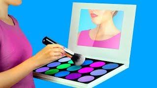 Video 9 DIY Weird Makeup Ideas / Miniature And Giant Makeup MP3, 3GP, MP4, WEBM, AVI, FLV September 2018