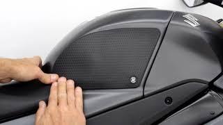 9. 2017 Suzuki GSX-R 1000 TechSpec Gripster Tank Grips Installation Instructions