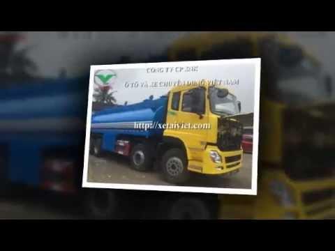 Hướng dẫn sử dụng xe téc chở xăng dầu