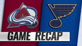 Blues top Avalanche on O'Reilly's SHG in OT by NHL