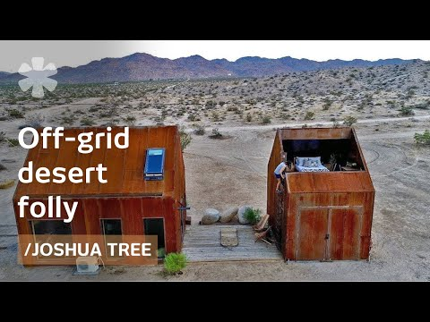 Forsaken Joshua Tree hut becomes off-grid folly for stargazing