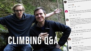 Climbing Questions Answered | 20K Q&A by Andrew MacFarlane